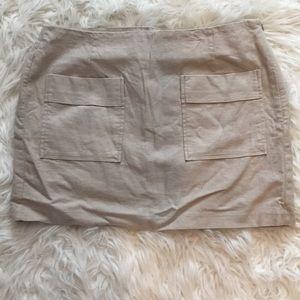 GAP + Patch pocket skirt + Khaki